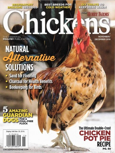 Media Scan for Chickens Magazine