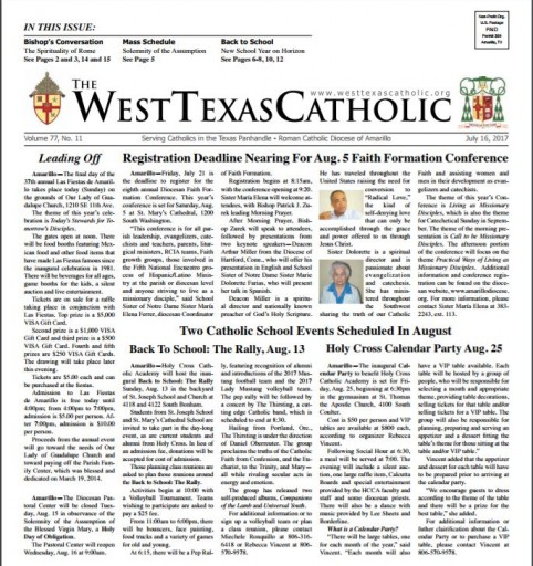 Media Scan for Amarillo West TX Catholic