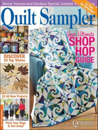 Media Scan for Quilt Sampler