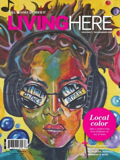 Media Scan for Tallahassee Democrat Living Here Magazine