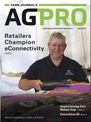 Media Scan for Farm Journal's AgPro Magazine