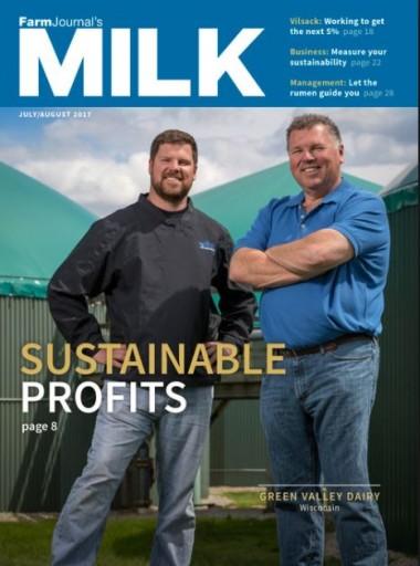 Media Scan for Farm Journal's Milk Magazine