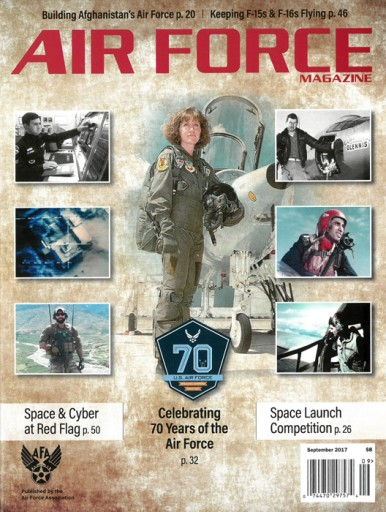 Media Scan for Air Force Magazine
