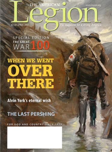 Media Scan for American Legion Magazine