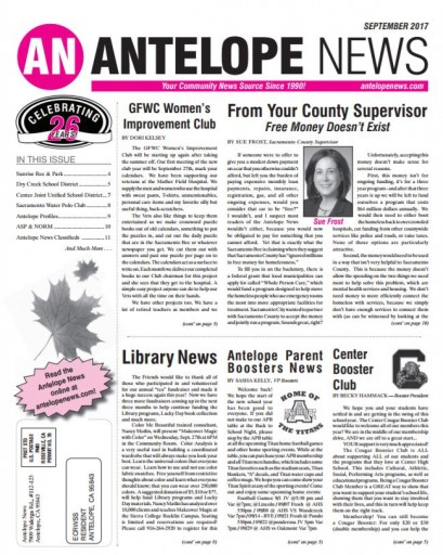 Media Scan for Antelope News