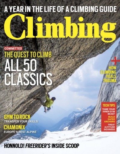 Media Scan for Climbing Magazine