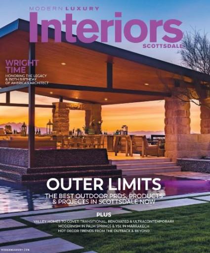 Media Scan for Modern Luxury Interiors Scottsdale