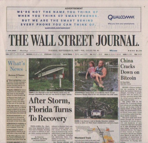 Media Scan for Wall Street Journal