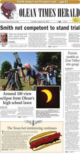 Media Scan for Olean Times Herald