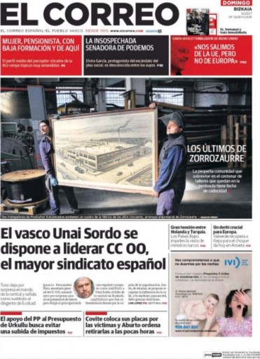 Media Scan for El Correo de Queens