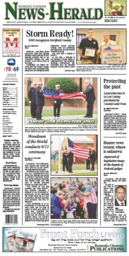 Media Scan for Ahoskie Roanoke-Chowan News Herald