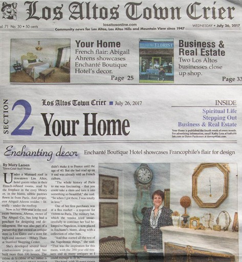 Media Scan for Los Altos Town Crier