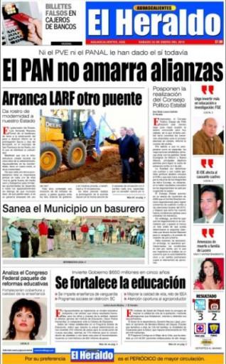 Media Scan for El Heraldo News - Dallas
