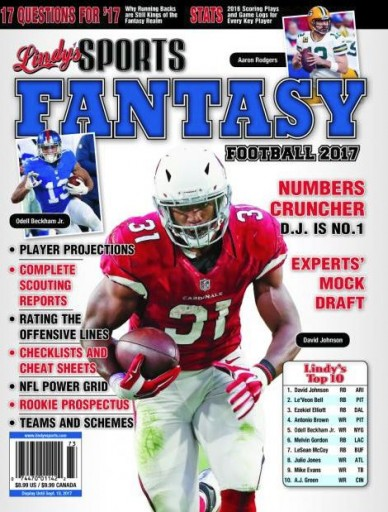 Media Scan for Lindy's Sports Fantasy Football