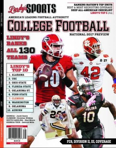 Media Scan for Lindy's Sports College Football