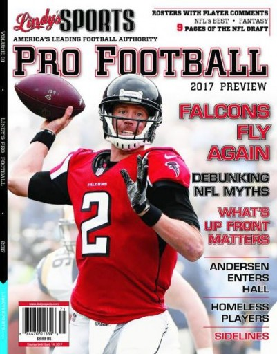 Media Scan for Lindy's Pro Football
