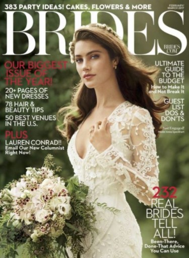 Media Scan for Brides Magazine