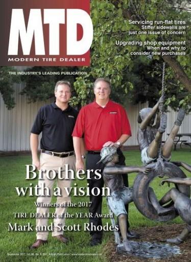 Media Scan for Modern Tire Dealer