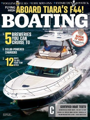 Media Scan for Boating Magazine