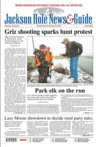 Media Scan for Jackson Hole News & Guide
