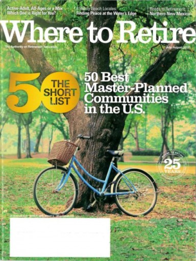Media Scan for Where to Retire Magazine