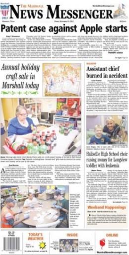Media Scan for The Marshall News Messenger