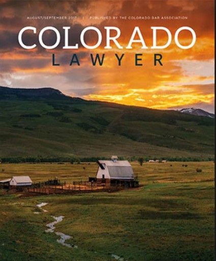 Media Scan for Colorado Lawyer