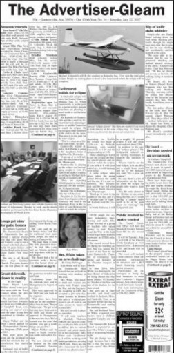 Media Scan for Guntersville Advertiser-Gleam