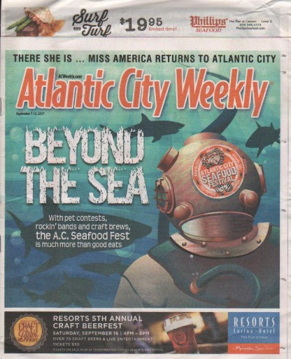 Media Scan for Atlantic City Weekly