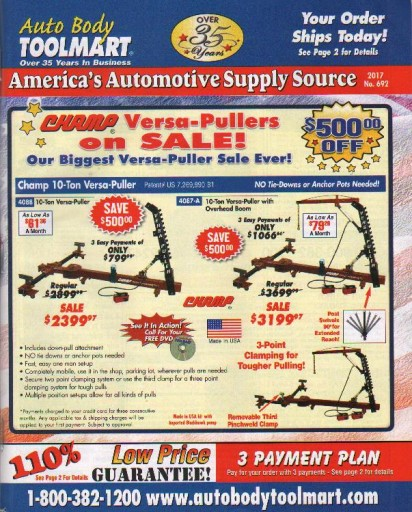 Media Scan for Auto Body ToolMart PIP