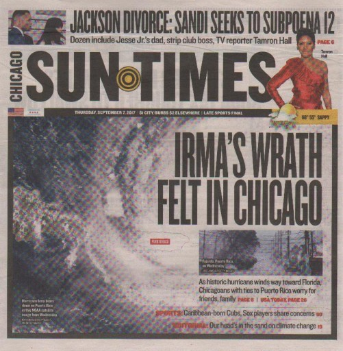 Media Scan for Chicago Sun-Times