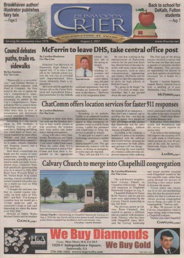 Media Scan for Dunwoody Crier