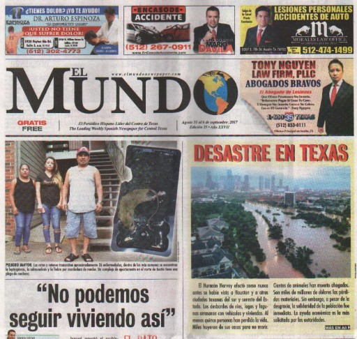 Media Scan for El Mundo - Austin