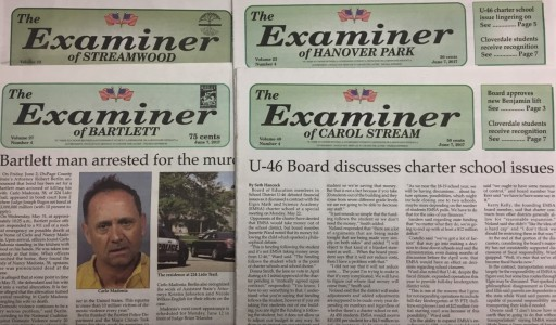 Media Scan for Chicago Area Examiner Newspapers