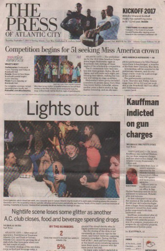 Media Scan for Atlantic City Press