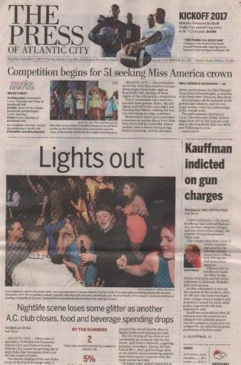 Media Scan for Atlantic City Press