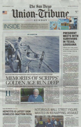 Media Scan for San Diego Union-Tribune