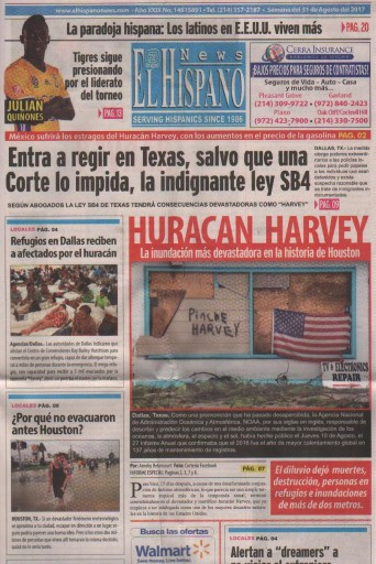 Media Scan for El Hispano News - Dallas