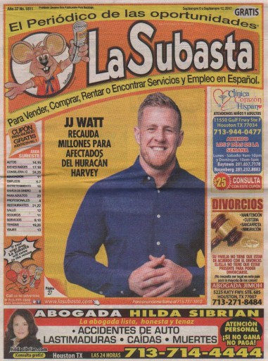 Media Scan for La Subasta- Houston