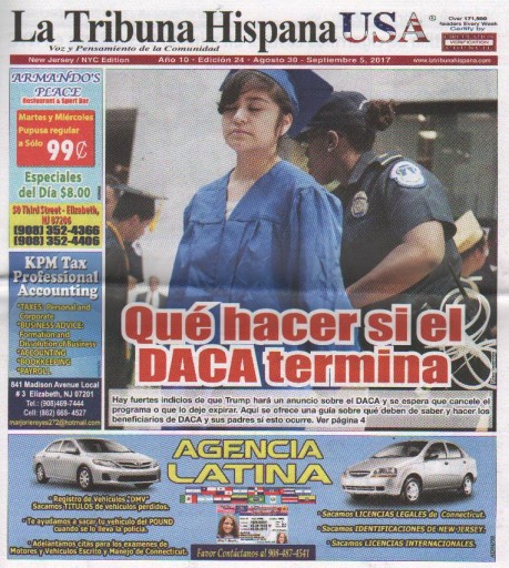 Media Scan for La Tribuna Hispana- New York