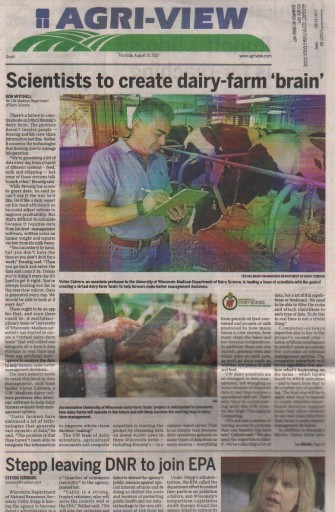 Media Scan for Agri-View Wisconsin