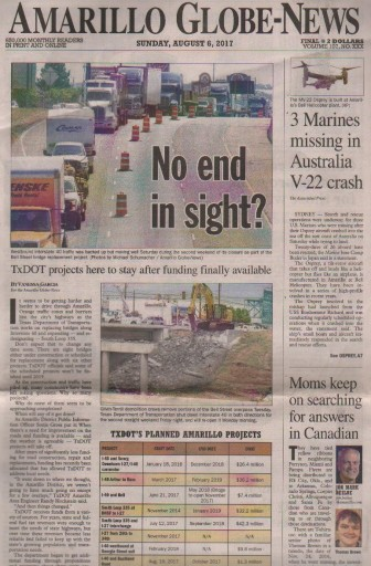 Media Scan for Amarillo Globe-News