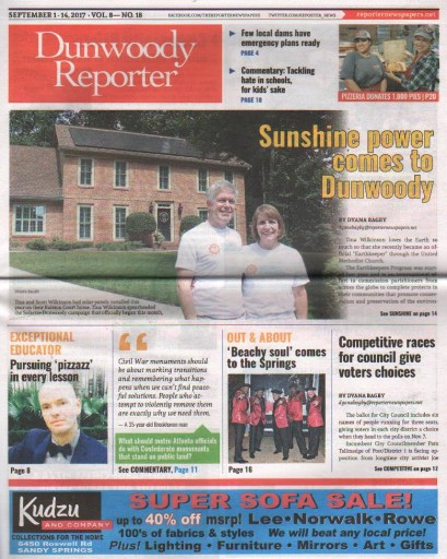 Media Scan for Dunwoody Reporter