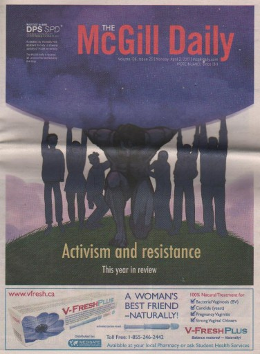 Media Scan for McGill Daily