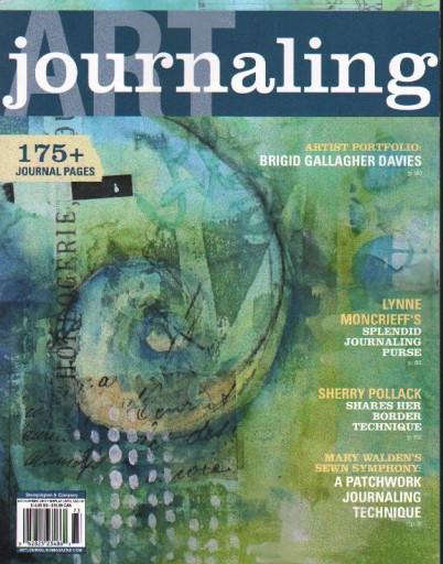 Media Scan for Art Journaling