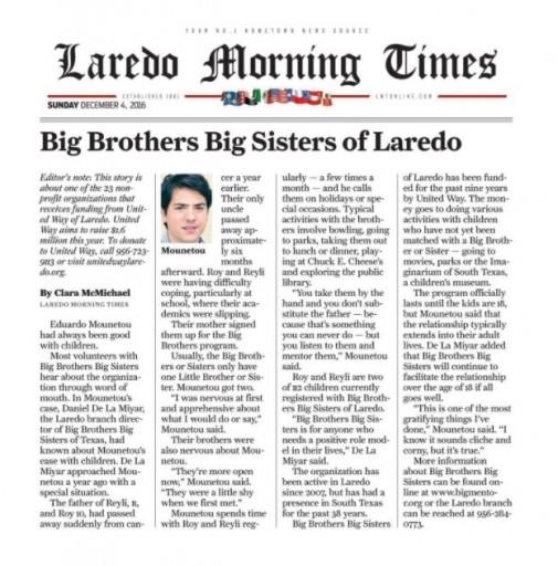 Media Scan for Laredo Morning Times