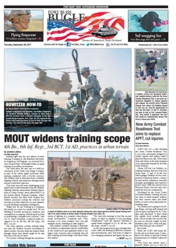 Media Scan for Ft. Bliss Monitor