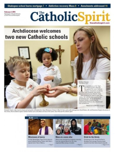 Media Scan for St. Paul Catholic Spirit