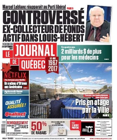 Media Scan for Le Journal de Quebec