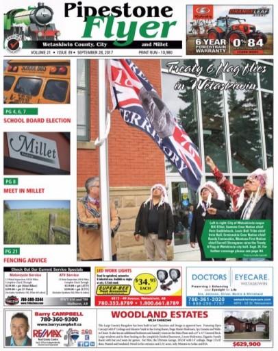Media Scan for Leduc Wetaskiwin Pipestone Flyer